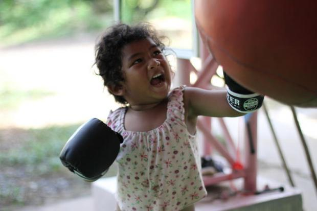 Isan kids get fighting chance