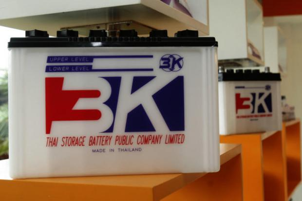 3K is one of the three brands manufactured by Thai Storage Battery. The Korphaibool family believes Japanese know-how will be of great advantage to the company's lithium battery production, says a source.
