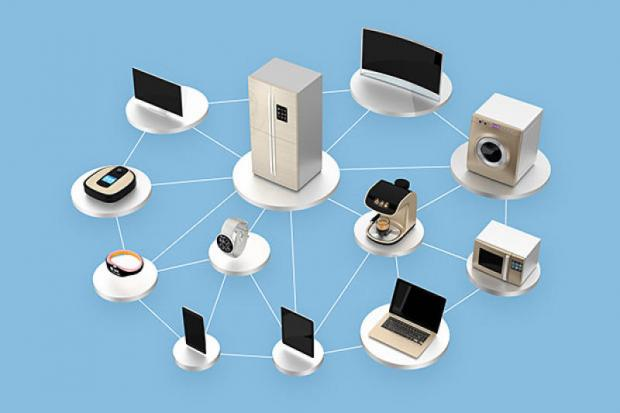 The graphic shows IoT devices. Photo courtesy of computerworld. com
