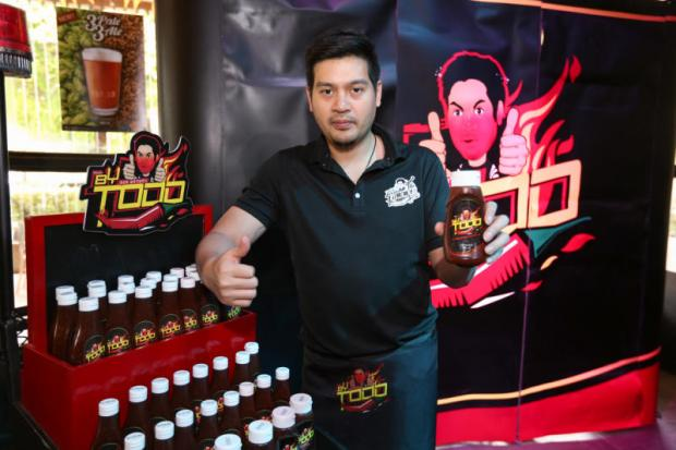 Piti Bhirombhakdi is expanding his personal business into the sauce market with Made By Todd's Prik Prik.