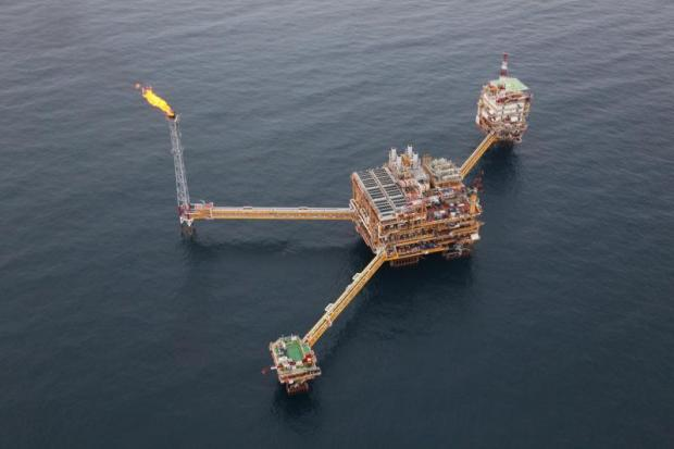 A PTTEP platform in the Bongkot offshore gas block in the Gulf of Thailand. Criteria approved on Tuesday by the cabinet will be applied to the 21st round of petroleum bidding if the Council of State clears them.