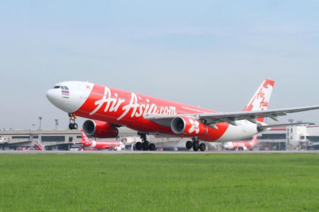 Thai AirAsia X's A330-300 jet taking off from Don Mueang airport. The airline intends to add three to four new aircraft to its fleet annually.