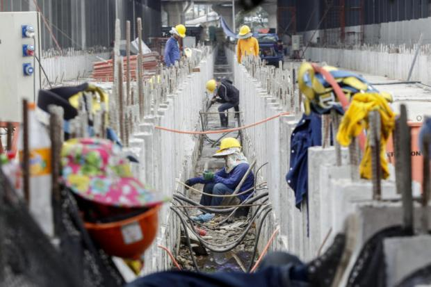 The construction sector is one of the main employers of hundreds of thousands of migrant labourers in Thailand. Photo: Pattarapong Chatpattarasill