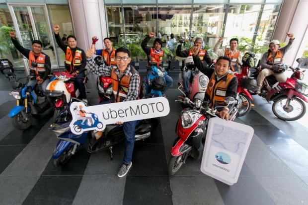 Photo courtesy of Uber Thailand