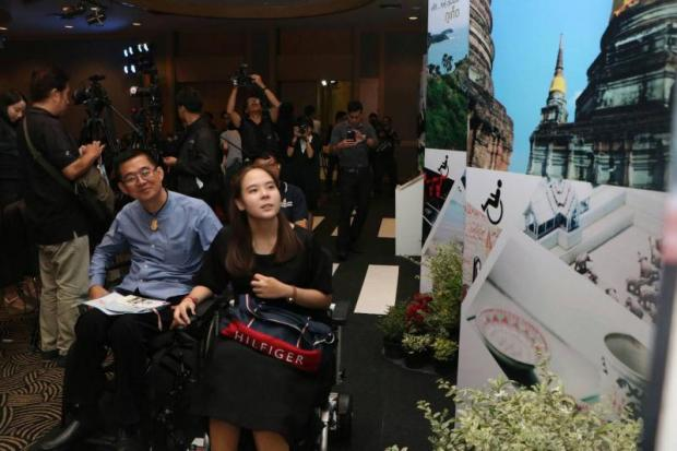 The Tourism Authority of Thailand is promoting nine tourism routes for disabled people and the elderly.