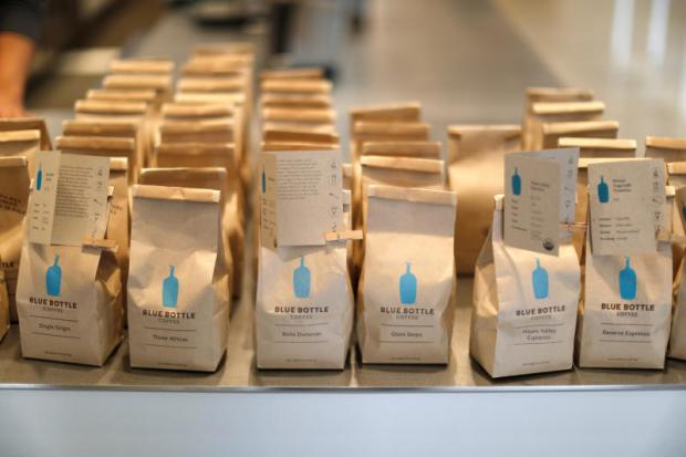 Blue Bottle is known for its exotic, micro-lot coffees.