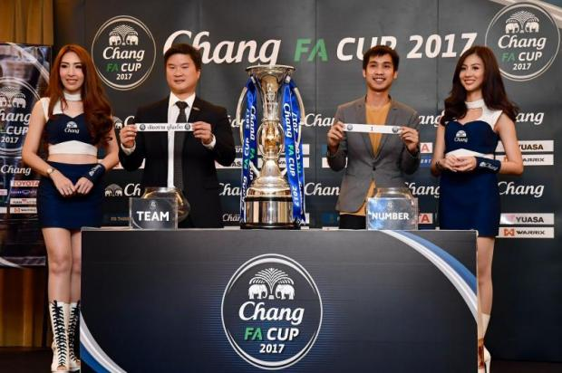 The draw for the FA Cup semi-finals takes place at Rajapruek Sport Club.
