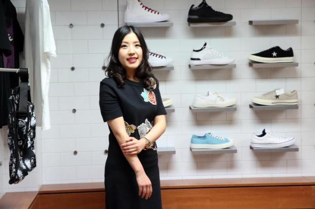 Ms Papitch says production of Converse shoes will be cut to 600,000 pairs next year.WEERAWONG WONGPREEDEE