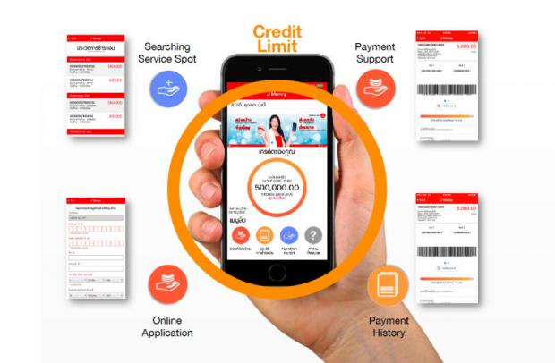 The J Money app, provided by J Fintech, lets users apply for loans, check credit limits and make payments.
