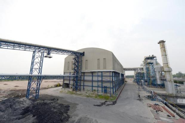 Buriram Sugar's biomass power plant in Buri Ram province. The company wants to build a fourth biomass plant with capacity of 9.9 megawatts.