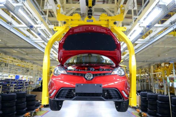 The new assembly plant is owned by Thai-Chinese carmaker SAIC Motor-CP.