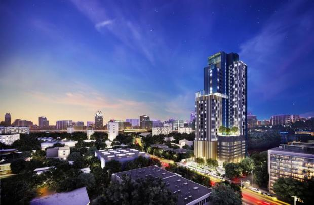 Staybridge Suites Bangkok Thonglor, with 303 rooms, is expected to open in 2019.