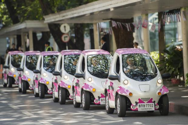 Toyota Motor Thailand is collaborating with Chulalongkorn University to research car-sharing usage and behaviour.