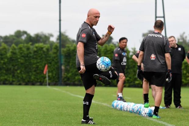 Thailand U23 team coach Zoran Jankovic. PR