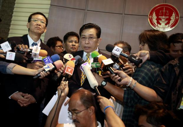 UNHAPPY: Wirat Kalayasiri says the order is tantamount to a reset of parties.
