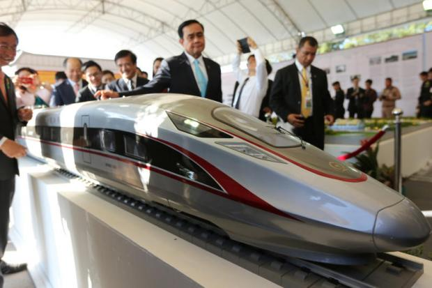 Prime Minister Prayut Chan-o-cha in December presided over the inauguration construction ceremony of Thailand's first high-speed rail development, a project linking Bangkok and Nakhon Ratchasima. Wichan Charoenkiatpakul