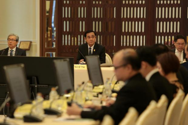 A BoI meeting chaired by Gen Prayut yesterday approved several measures to support entrepreneurs. Chanat Katanyu