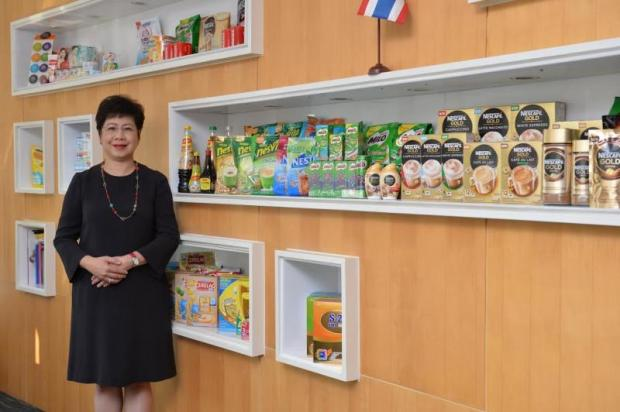 Audrey Liow, chairwoman and chief executive of Nestle Indochina, says the government needs to provide more education about nutrition.