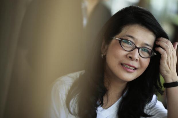 ready for election: Key Pheu Thai politician Khunying Sudarat Keyuraphan.