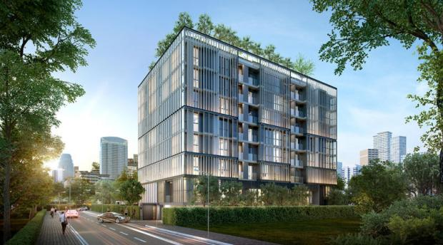 Walden Asoke, a low-rise condominium project, will be located on a 220-square-wah plot on Sukhumvit Soi 23.