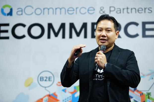 Almost unknown in Asia 10 years ago, e-commerce has grown quickly in Thailand, Mr Tom says.