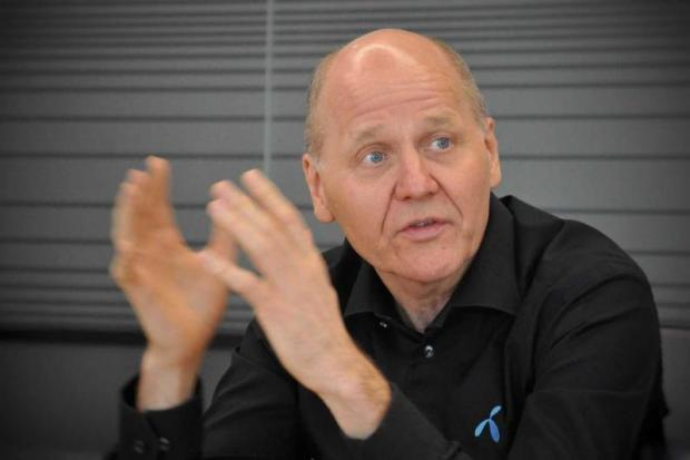 Sigve Brekke, president and CEO of Telenor Group, says DTAC has every intention of staying in the Thai market.