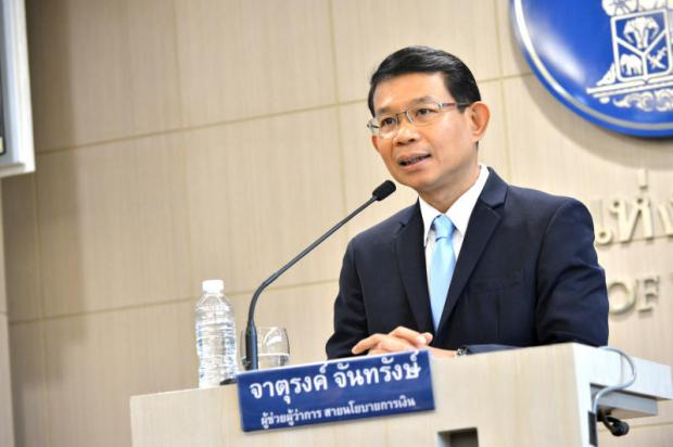 Jaturong: Recovery lifts debt-to-GDP ratio