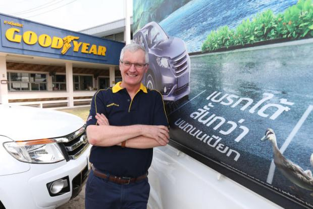 Mr O'Connor says Goodyear is confident of achieving continued success this year both at home and abroad.