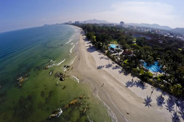 Beachfront vacation: Tourist hotspots like the beach town of Hua Hin are proving magnets for daily rentals on platforms like Airbnb which many travellers prefer over traditional hotels.