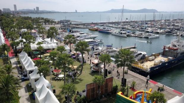 Ocean Marina Yacht Club Pattaya is investing 100 million baht to increase the number of berths for yachts.