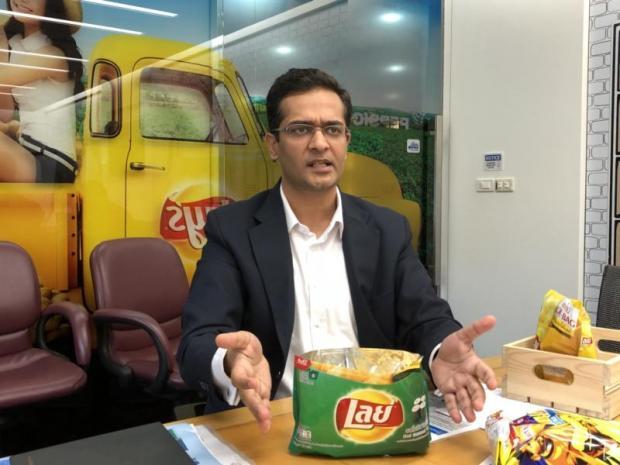 Mr Bhandari says the salty snack segment is seeing impressive growth.PITSINEE JITPLEECHEEP