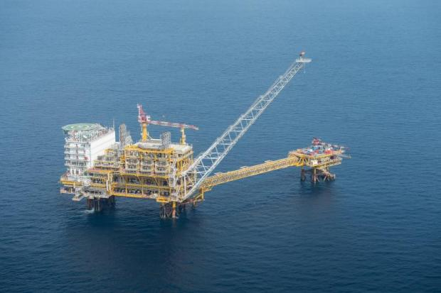 The Zawtika gas field in the Martaban Sea. Gas from the field could feed a future power plant in Myanmar.