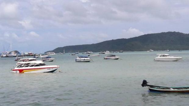 Speedboats and tourist boats are a common sight around Patong Beach in Phuket.WALAILAK KEERATIPIPATPONG
