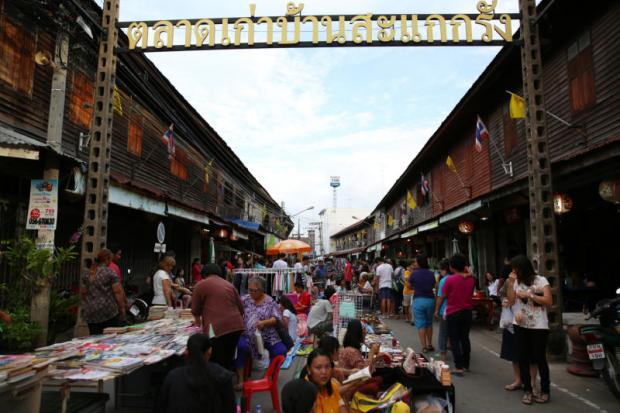 Baan Sakae Krang Market in Uthai Thani, one of the 55 second-tier provinces. KARNJANA AYUWATANACHAI