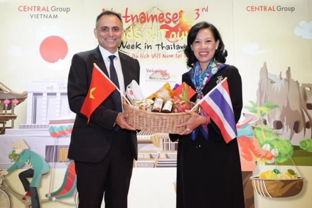 Mr Broianigo and Mrs Jariya are propelling the expansion of Central's brands in Vietnam.