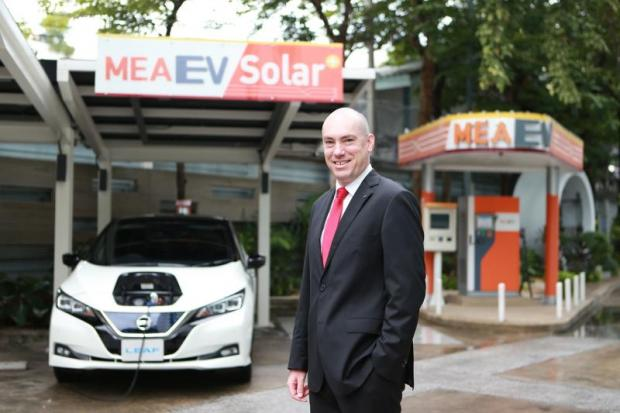 Mr Barthes says the Nissan Leaf will be introduced in Thailand by March 2019 at the latest.