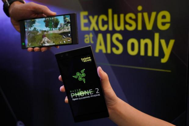 The Razer 2 game smartphone was launched in Thailand, its first overseas market.