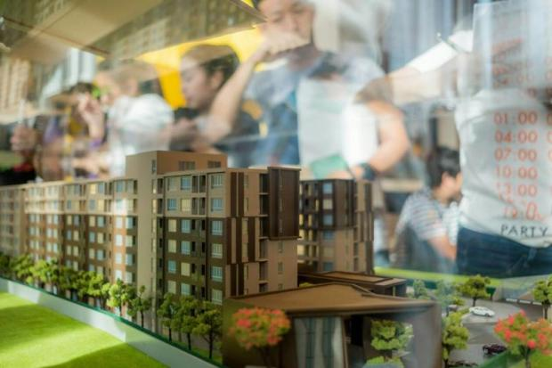 Using heavy marketing, Sansiri's condo presales launch events usually draw a large number of buyers, including investors on the first few days of the event.