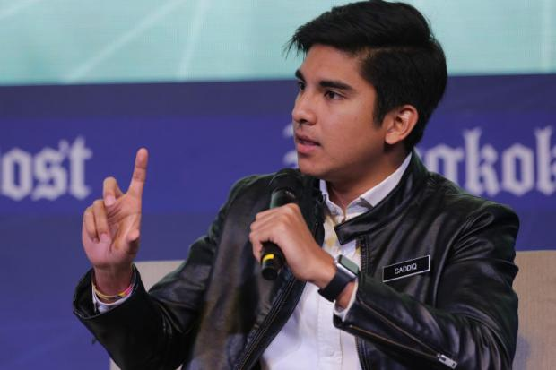 Syed Saddiq Syed Abdul Rahman, Malaysia's youth and sports minister, stresses the importance of including young people in the decision-making process to foster stronger democratic values and positive political change.(Photo by Wichan Charoenkiatpakul)