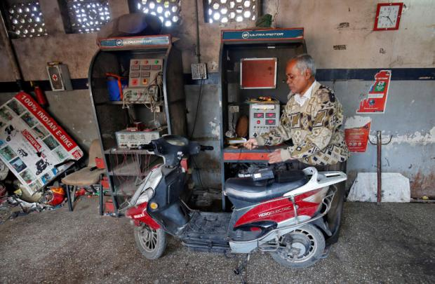 Two-wheelers power India's EV revolution