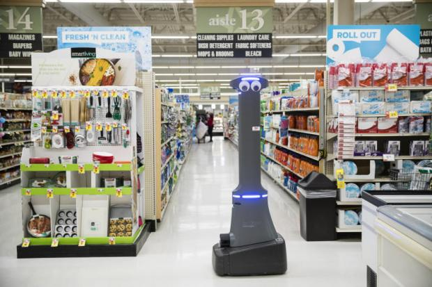 Robot assistants rolling into stores