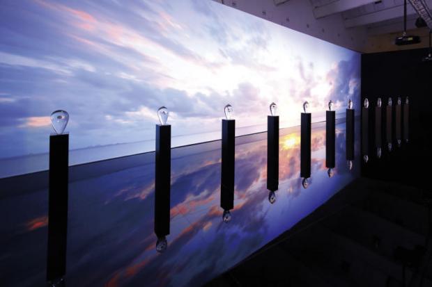 Grand Seiko display an artistic vision