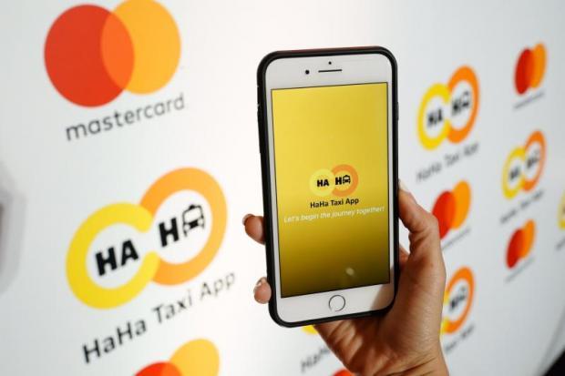 The HaHa app uses Mastercard's Masterpass digital payment platform.