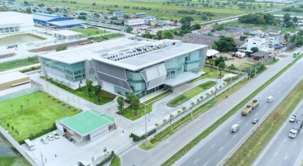 An artist's rendering of CPF's R&D centre in Wang Noi district, Ayutthaya province.