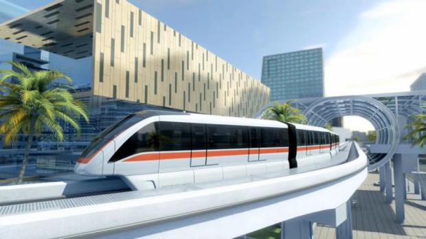 Bombardier's Innovia 300 monorail trains could be used for the Pink Line and Yellow Line in Bangkok.