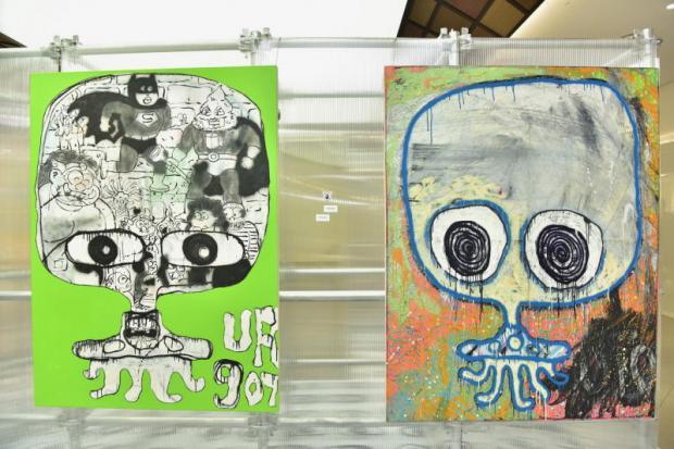 Alien art lands in BKK