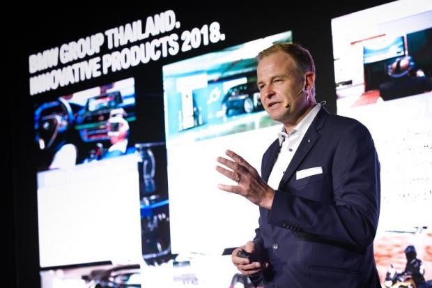 Mr Wiedmann says BMW has great flexibility within its global network.