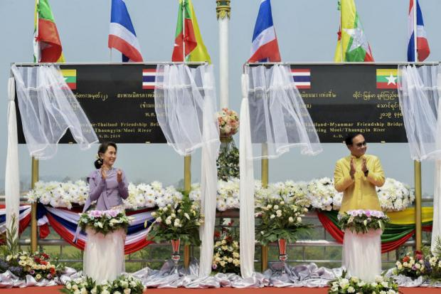 Thai-Myanmar bridge opens