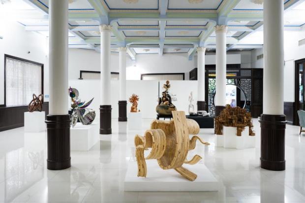 Home-grown artworks on display