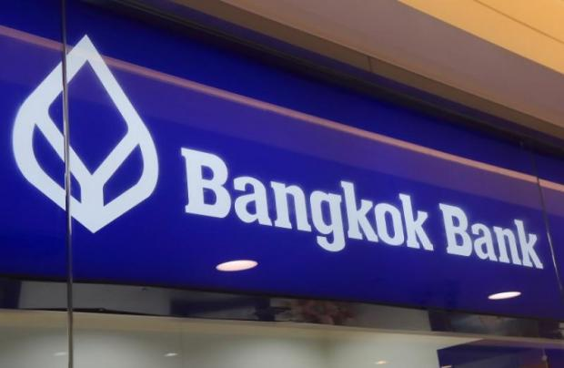 Bangkok Bank's growth in new cards and spending fell short of targets during the three months to March.